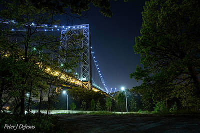 Politicians Wall Art - Photograph - Lurking In The Shadows - George Washington Bridge by Peter J DeJesus