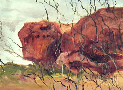 Painting - Lurking Rock by Nila Jane Autry