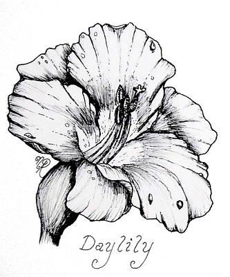 Luscious Daylily  Art Print