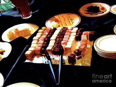 Photograph - Luscious Dessert Table by Merton Allen