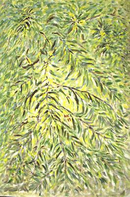 Painting - Luscious Green by Naini Kumar