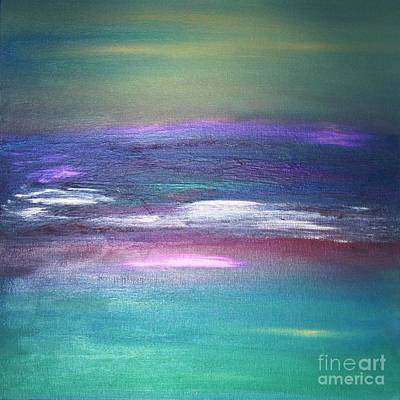 Laguna Beach Painting - Luscious Laguna - Ocean Series by Tracy Evans