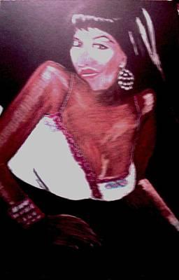 Luscious Lori Art Print