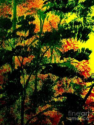 Painting - Lush Foliage by Tim Townsend