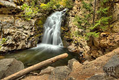 Photograph - Lush Green Falls Creek Falls by Adam Jewell