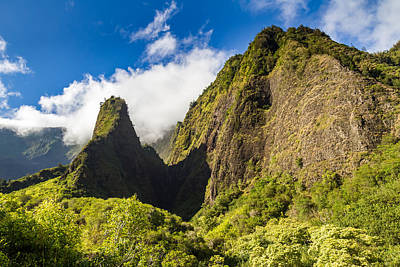 Photograph - Lush Iao Needle Maui by Pierre Leclerc Photography