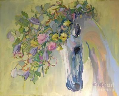Rebirth Painting - Lush by Kimberly Santini