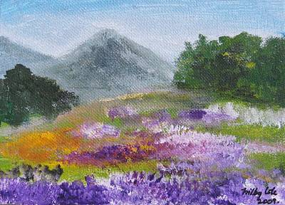 Art Print featuring the painting Lush by Trilby Cole