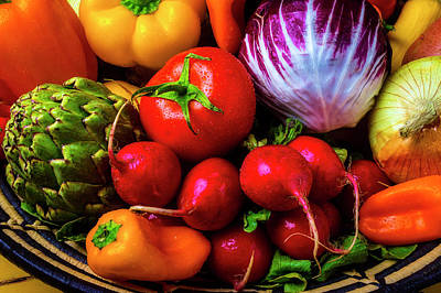Photograph - Lush Vegetables by Garry Gay
