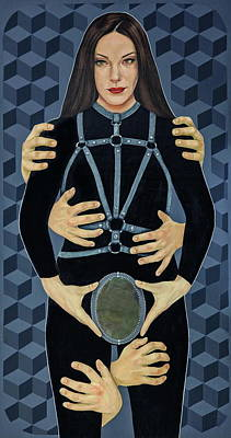 Painting - Lust by Jovana Kolic