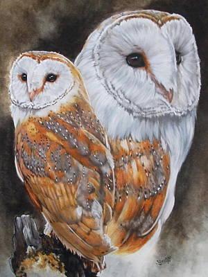 Luster Art Print by Barbara Keith