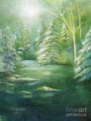 Painting - Luster Of Midday by Marlene Book