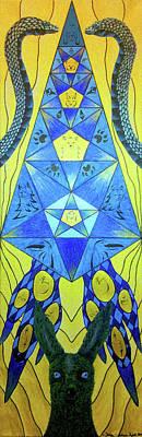 Lute Of Pythagoras Communication Original by Adrian Pajak