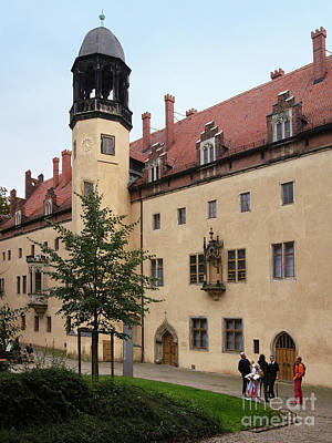 Photograph - Luther House Wittenberg 1 by Rudi Prott
