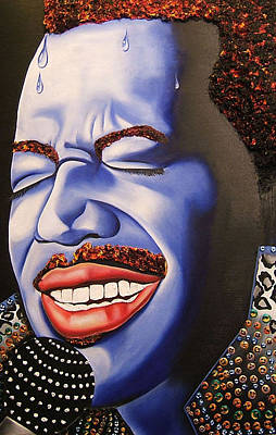 Painting - luther Smiles by Nannette Harris