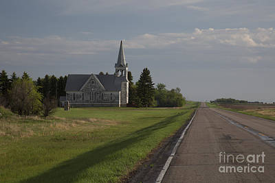 Photograph - Lutheran Church by Jim West