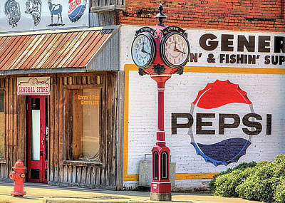 Photograph - Luverne Alabama A Pepsi Town by JC Findley