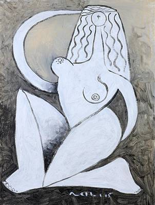 Nudes Mixed Media - Lux No. 10  by Mark M  Mellon