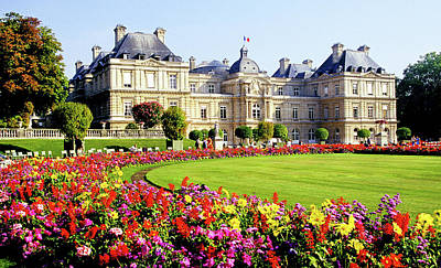 Farm House Style - April In Paris, Luxemborg Gardens, Paris by Buddy Mays