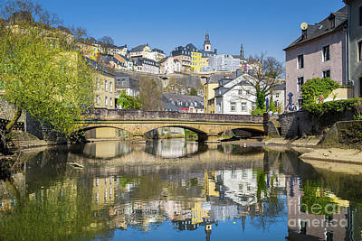 Photograph - Luxembourg City by JR Photography