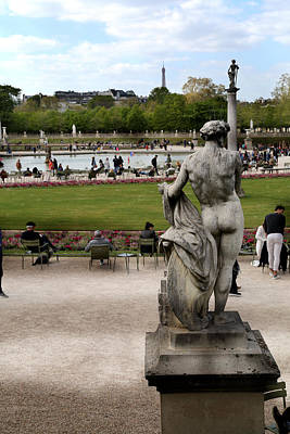Photograph - Luxembourg Gardens 4 by Andrew Fare