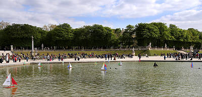 Photograph - Luxembourg Gardens 6 by Andrew Fare