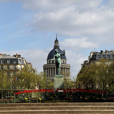 Photograph - Luxembourg Gardens 7 by Andrew Fare