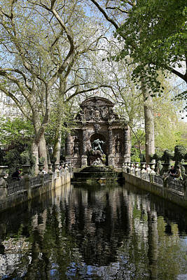 Photograph - Luxembourg Gardens 8 by Andrew Fare
