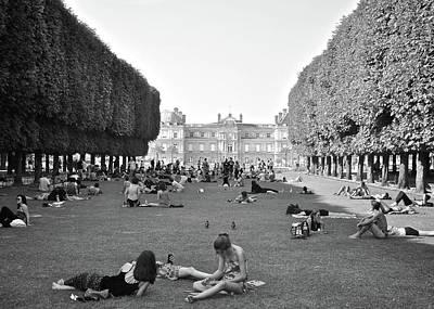 Photograph - Luxembourg Gardens by Matt MacMillan