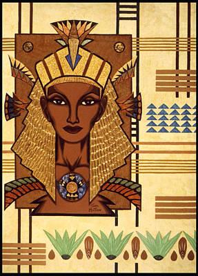 Luxor Deluxe Art Print by Tara Hutton