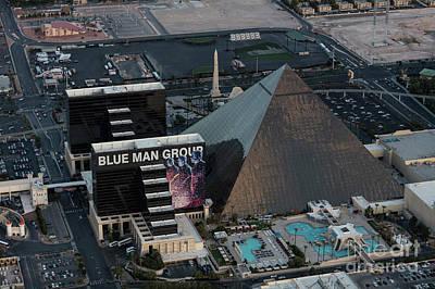Sunset Strip Wall Art - Photograph - Luxor Hotel The Strip, Las Vegas by PhotoStock-Israel