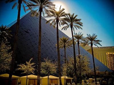 Luxor Las Vegas Art Print by Patrick  Flynn