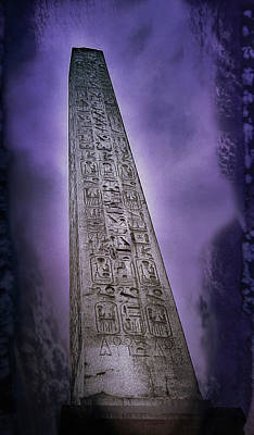 Photograph - Luxor Obelisk, Paris by Richard Goldman