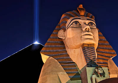 Art Print featuring the photograph Luxor by Tammy Espino