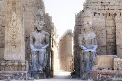 Luxor Temple - Egypt Art Print