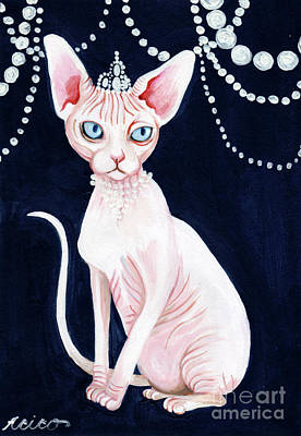 Painting - Luxurious Sphynx by Akiko Okabe