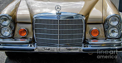 Photograph - Luxury Benz by Dale Powell
