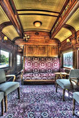 Photograph - Luxury Lounge Car by Paul W Faust - Impressions of Light
