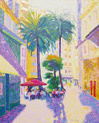 Painting - Luz En Valencia by Pixie Glore