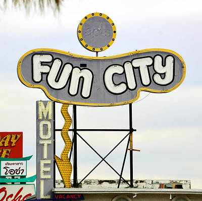 Photograph - Classic Vegas Neon  by David Lee Thompson