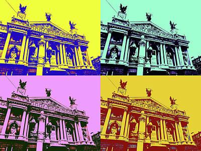 Lviv Opera House Art Print