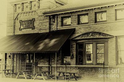 Photograph - L. V. R. R. Terminal 1905 by William Norton
