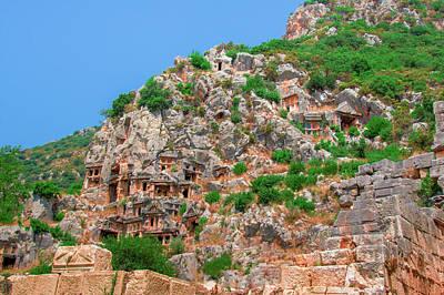 Photograph - Lycian Necropolis In Myra by Sun Travels