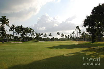 Lyford Cay Golf Club The Bahamas Art Print by Jan Daniels