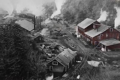 Lykens Valley Mining Art Print