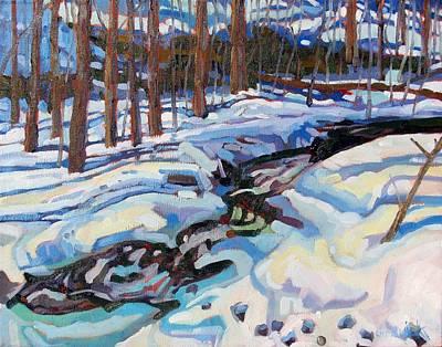 Lyn Creek Ford Art Print