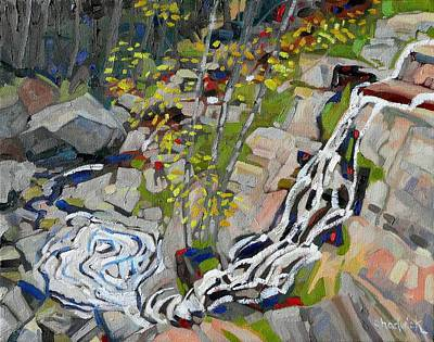 Tom Thomson Painting - Lyn Hairpin by Phil Chadwick