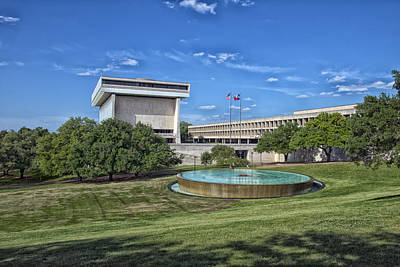 Lyndon B Johnson Presidential Library Art Print