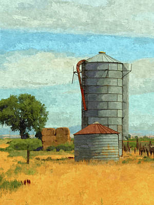 Digital Art - Lyndyll Farm by David King