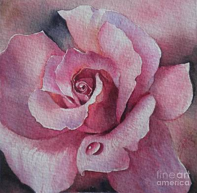 Painting - Lyndys Rose by Sandra Phryce-Jones